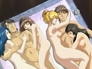 Young anime babe gets fucked by a tentacle monster