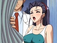 Anime Floozy swallows Stoner's dick and got cum blasted